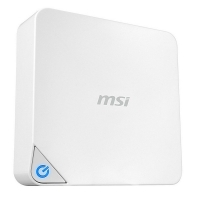 MSI Cubi 2 003XEU i3-7100T/HD620/4GB/128GB SSD/FreeDos Blanco - Mini PC