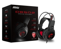 MSI DS 502 7.1 Gaming Negro - Auriculares