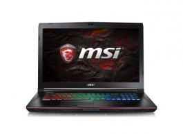 MSI GE72 7RD(Apache)-083ES i7-7700HQ/GTX1050/16GB/256GB SSD/1TB/17.3