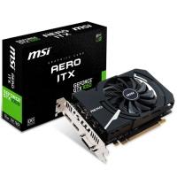 MSI GeForce<span class='trademark-category'>&reg;</span> GTX 1050 AERO ITX OCV1 2GB GDDR5 - Tarjeta Gráfica