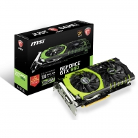 MSI Geforce GTX 960 Gaming 100 ME With BackPlate Black 2GB - Tarjeta Gráfica