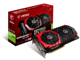 MSI GeForce<span class='trademark-name'>&reg;</span> GTX 1060 GAMING X+ 6GB GDDR5  - Tarjeta Gráfica