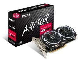 MSI Radeon RX 570 ARMOR OC 4GB GDDR5 - Tarjeta Gráfica