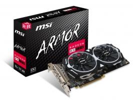 MSI Radeon RX 580 ARMOR OC 8GB GDDR5 - Tarjeta Gráfica