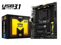 MSI X99A MPower ATX Socket 2011 USB 3.1 - Placa Base