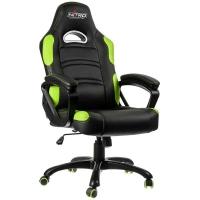 Nitro Concepts C80 Comfort Gaming Negro/Verde - Silla Gaming