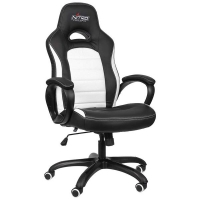 Nitro Concepts C80 Pure Gaming Negro/Blanco - Silla Gaming