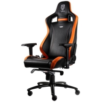 Noblechairs EPIC Gaming PENTA Sports Edition Negro/Naranja - Silla Gaming