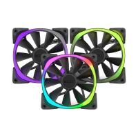 NZXT Aer RGB LED Para HUE+ Negro Pack 3 Uds - Ventilador 12 cm