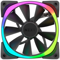 NZXT Aer RGB LED Para HUE+ Negro - Ventilador 14 cm