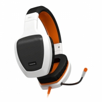 Ozone RAGE Z50 Glow Gaming White/ Orange - Auriculares