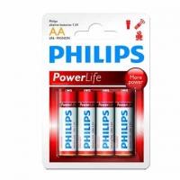 Philips LR6 AA Pack 4 - Pilas