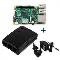 Raspberry Pi KIT TYPE B+ Con Fuente + Caja - Placa Base