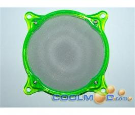 Rejilla 8 CM - Circular - Anti-Polvo Metálica - UV Verde