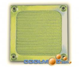 Rejilla 9 CM - Anti-Polvo Metálica Gold