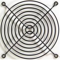 Rejilla Ventilador Negra - Rejilla Ventilador 12 cm