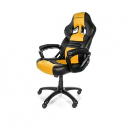 SpeedBlack Seat Gamer Negro/Amarillo - Silla Gaming