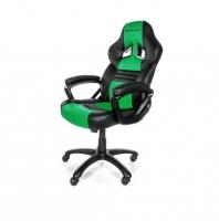 SpeedBlack Seat Gamer Negro/Verde - Silla Gaming