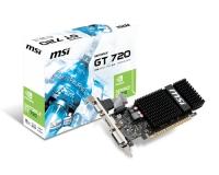 Tarjeta Gráfica MSI GeForce GT 720 N720-2GD3HLP - 2GB DDR3