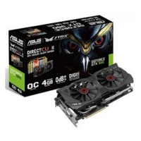 Asus GeForce Strix GTX 980 OC  Direct CU II  4GB DDR5 - Tarjeta Gráfica (Regalo Batman AK)