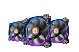 Thermaltake Riing LED RGB Triple Pack - Ventilador 12 cm
