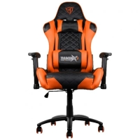 Thunderx3 TGC12BO Negro/Naranja - Silla Gaming