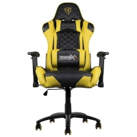 Thunderx3 TGC12BY Negro/Amarillo - Silla Gaming