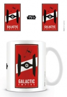 Tie Fighter Logo Star Wars - Taza