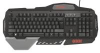 Trust GTX 850 Metal Gaming Negro - Teclado