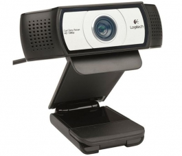 Webcam Logitech C930 Full HD 1080p Negro/Plata