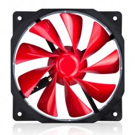 Xigmatek XOF-F1251 Rojo - Ventilador 12 cm