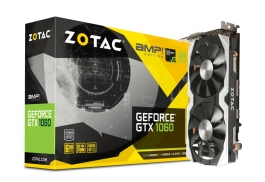 Zotac GeForce<span class='trademark-name'>&reg;</span> GTX 1060 AMP! 6GB GDDR5 - Tarjeta Gráfica
