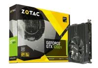 Zotac Nvidia GeForce® GTX 1050 Ti Mini 4GB GDDR5 - Tarjeta Gráfica