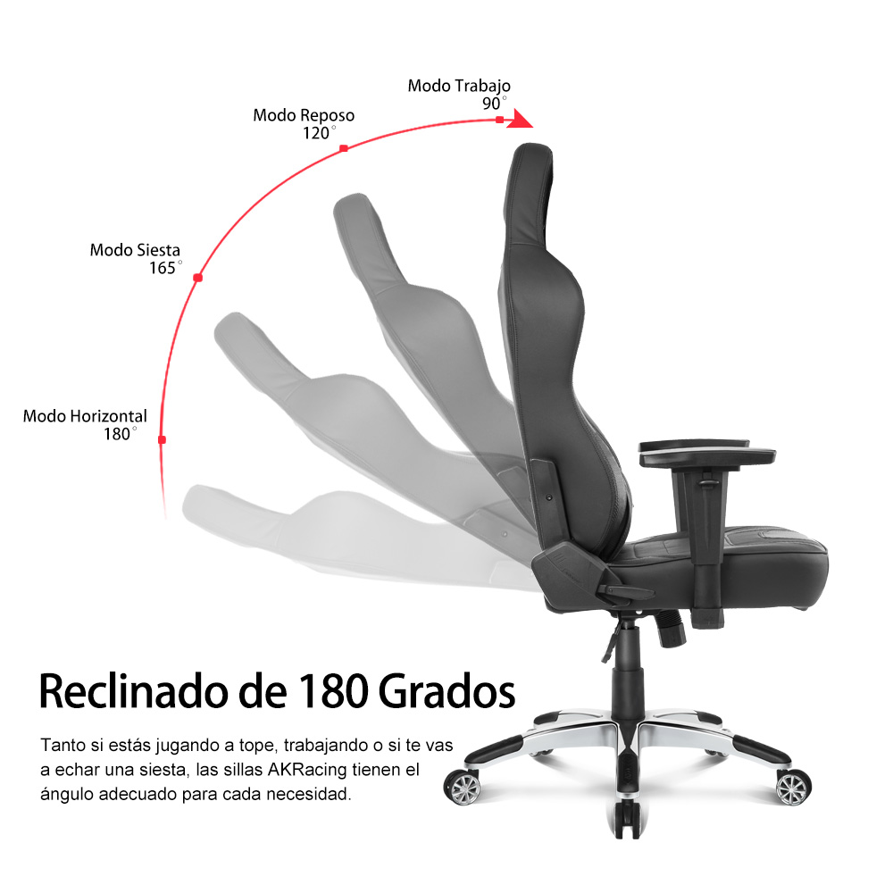 AKRacing Office Series Obsidian UltraPremium - Silla Oficina