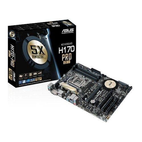 Asus H170 Pro/3.1 Socket 1151 -  Placa Base
