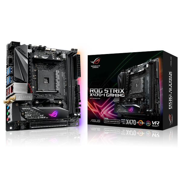 Asus ROG Strix  X470-I Gaming Socket AM4 -  Placa Base
