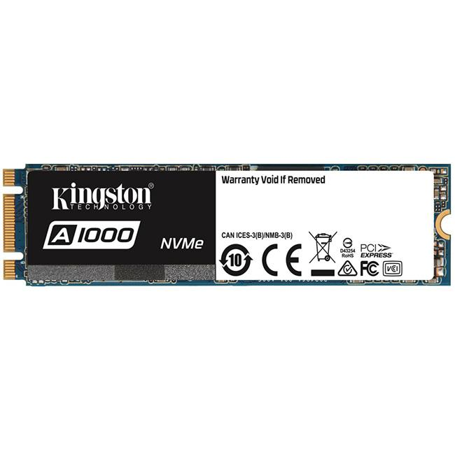 Kingston A1000 NVMe PCIe Gen 3.0 x2 240GB -  Disco Duro M.2