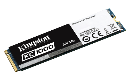 Kingston KC1000 480GB NVMe PCIe -  Disco SSD
