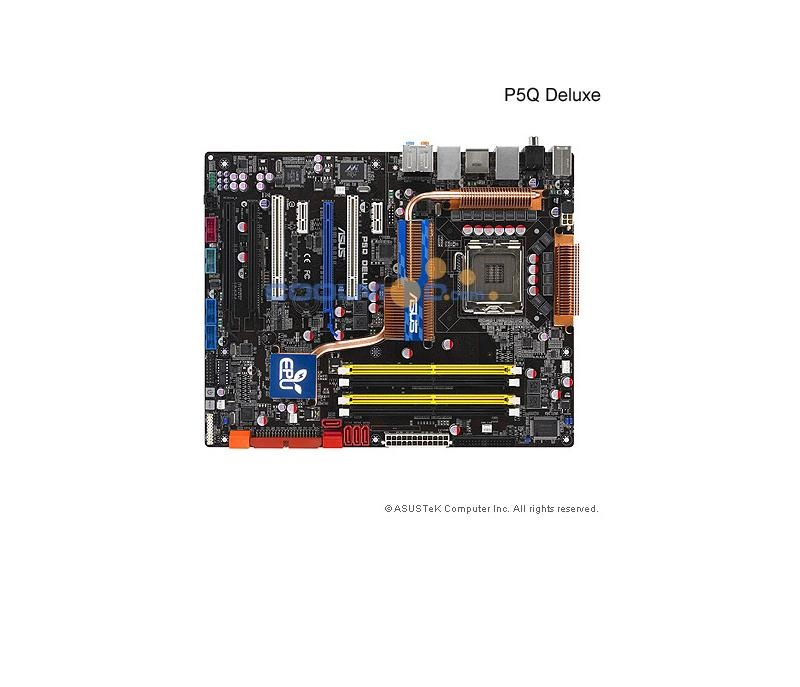 Asus P5Q Deluxe P45 Socket 775 DDR2 -  Placa Base