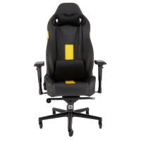 Corsair T2 Road Warrior Negro / Amarillo - Silla Gaming